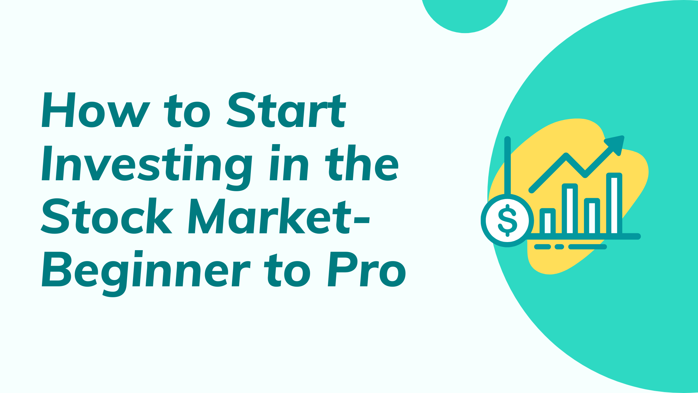 How To Start Investing In The Stock Market- Beginner To Pro
